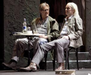 Heikki Kilpeläinen und Hans-Otto Weiss als Don Giovanni und Leporello