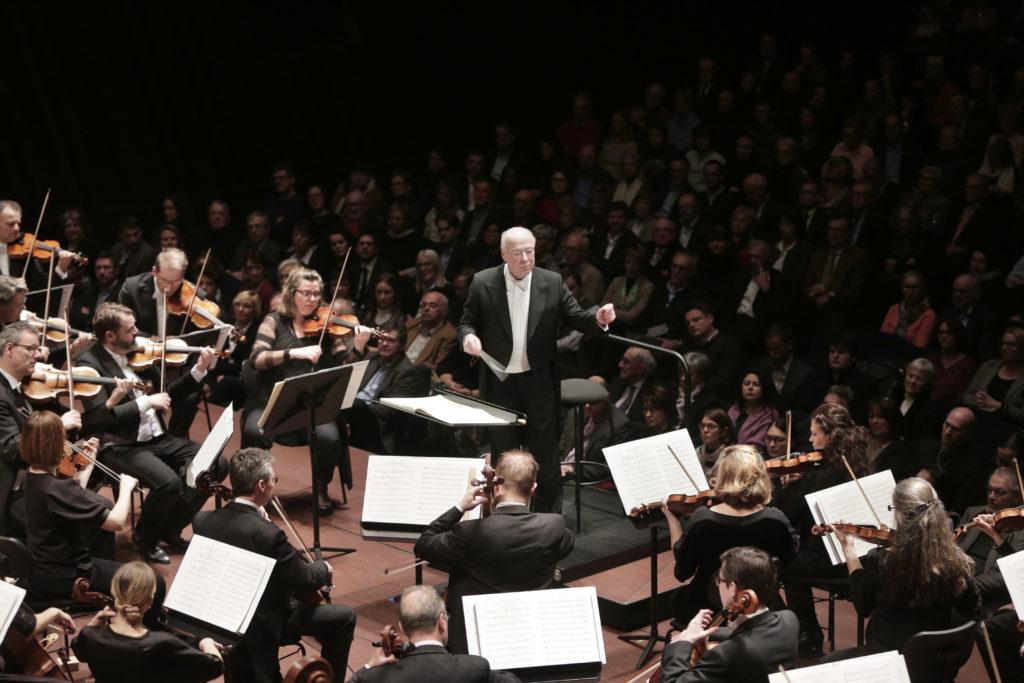 Ein Maestro mit Hingabe: Bernard Haitink. Foto: Sébestien Grébille