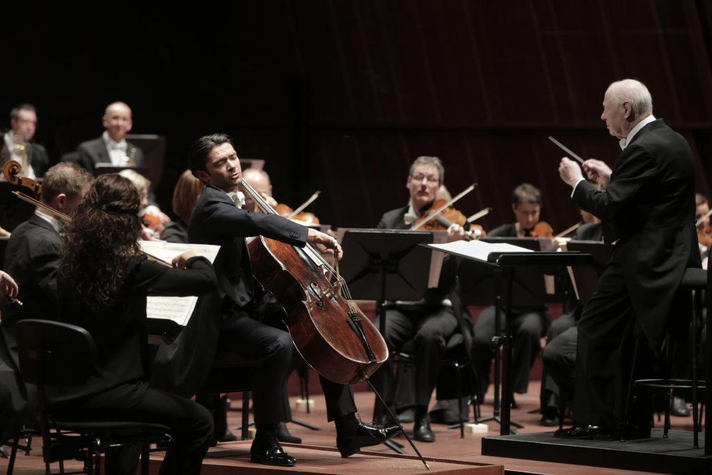 Das Chamber Orchestra of Europe unter Bernard Haitink lockt mit dem Solisten Gautier Capuçon und Schumanns Cellokonzert. Foto: Sébastien Grébille