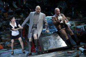 Bjarni Thor Kristinsson und John Heuzenroeder als Herzog la Trémouille und Herzog von Alençon ein komisches Paar. Foto: Paul Leclaire