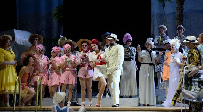 Tschaikowskys Pique Dame geht an der Düsseldorfer Oper am Rhein nach Hollywood