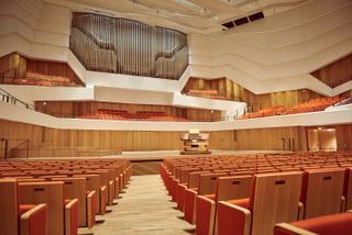 Dresdener Kulturpalast: der neue Konzertsaal (Foto: Markenfotografie=