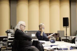 Philippe Manoury und Nicolas Stemann bei den Vorplanungen. Foto: Gürzenich-Orchester 2019