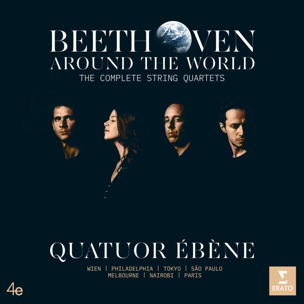 Die neue Ébènes-CD-Box mit allen Beethoven-Streichquartetten