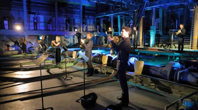 Hörner aus der Maschinenwelt. Erstes Konzert nach Coronalockdown in der Bayerischen Staatsoper