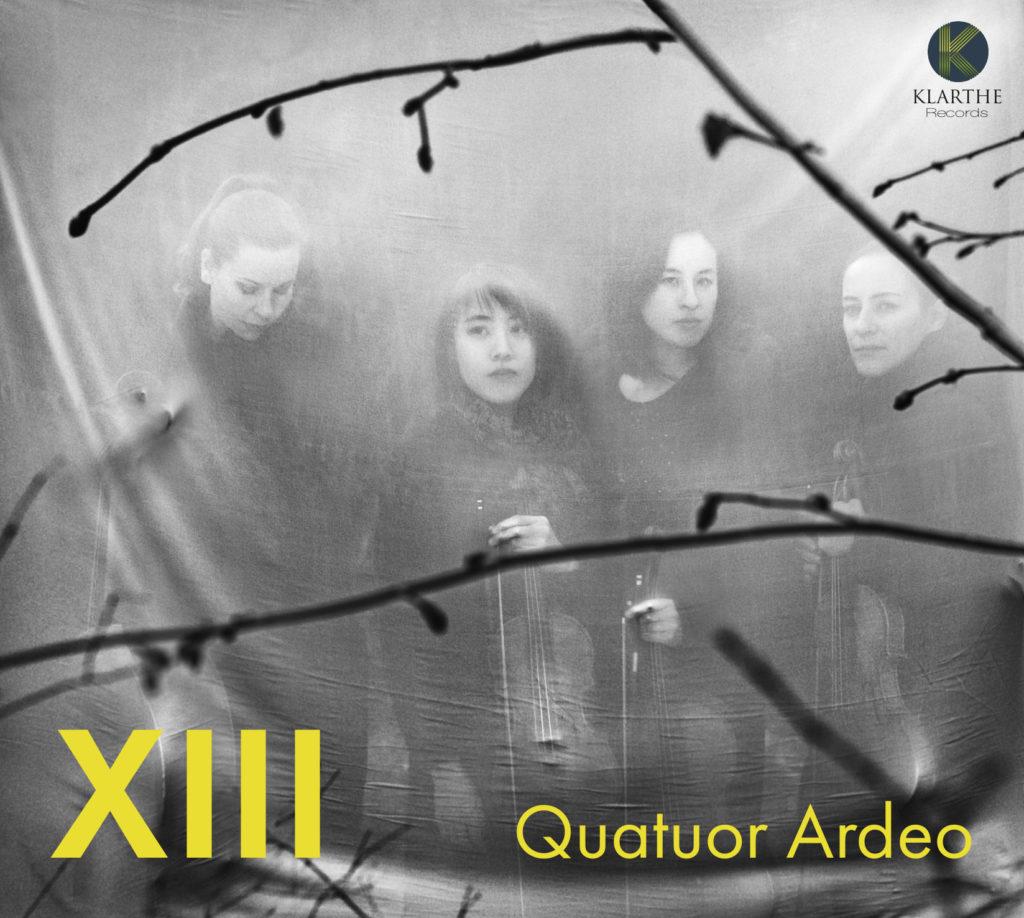"""Zerbrechliche Eleganz! Das französische Quatuor Ardeo leuchtet Schubert und George Crumb auf seiner neuen CD """"XIII"""" berückend schön aus!"""