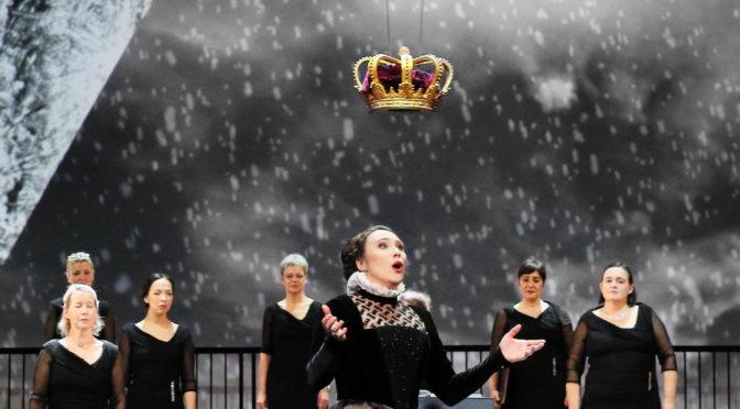 Anna Bolena – ein Politthriller mit Belcanto-Musik und exzellenten Protagonisten am Münchner Gärtnerplatztheater – halbszenisch als Premieren-Stream