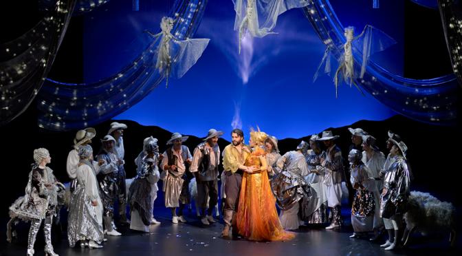 """Die Opéra Comique mit Mondonvilles """"Titon et l'Aurore"""" versilbert Schäferidylle und vergoldet Musik! Und kommt im Stream nach Hause!"""