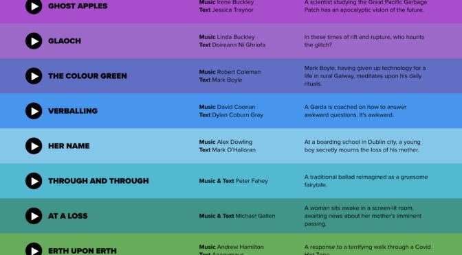 20 Shots of Opera. Junge irische Komponisten zeigen, was digitale Oper kann!