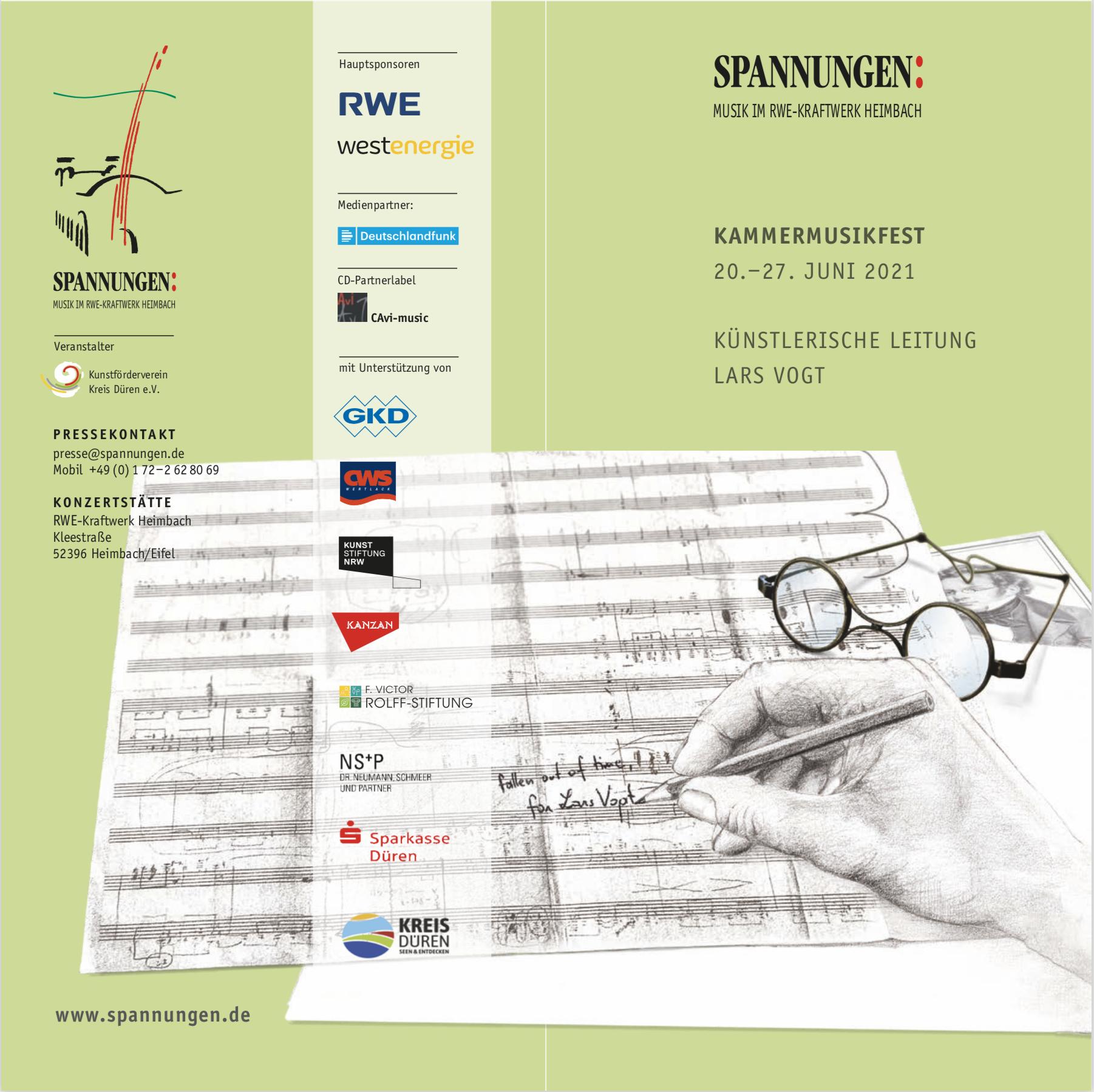 Das Kammermusikfest SPANNUNGEN Heimbach online